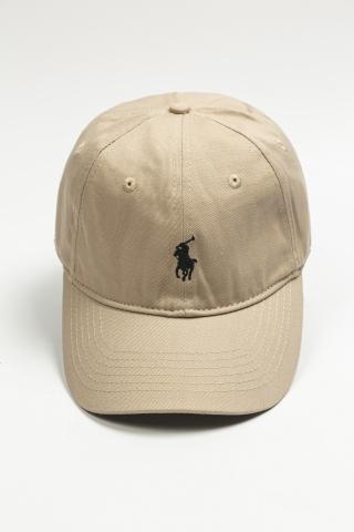 Кепкa Polo бежевая