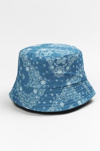 Панама Fractal голубая