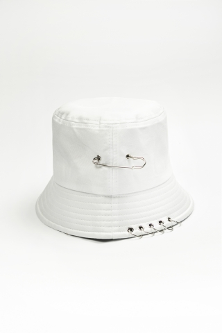 Панама Ring&Pin белая