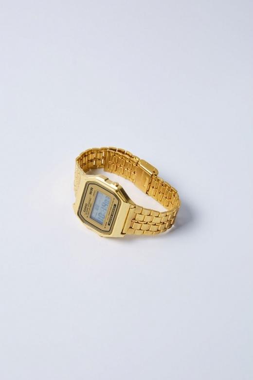 Часы Cas золотые