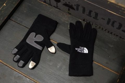Перчатки The North Face флис L чёрные