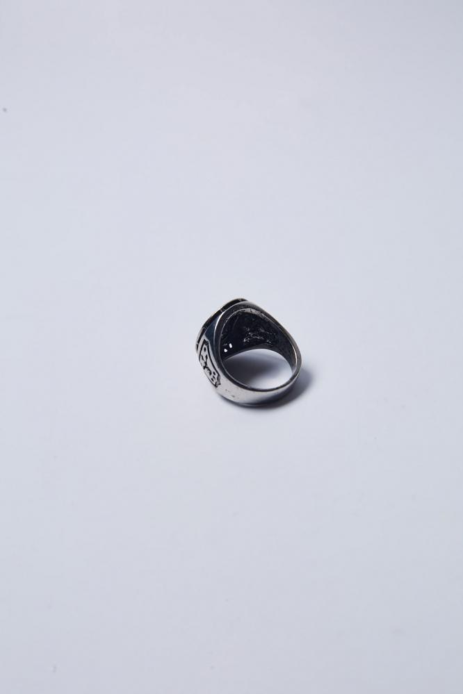 """Перстень """"Череп"""" (сереб-сереб)"""
