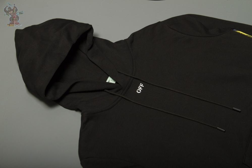 Худи OFF-White черное