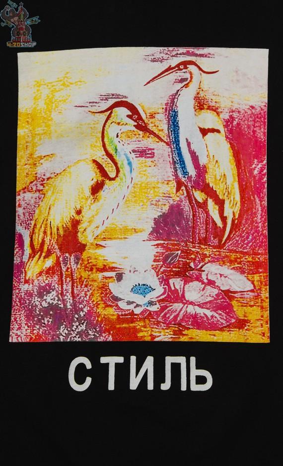 Лонгслив Heron Preston черный