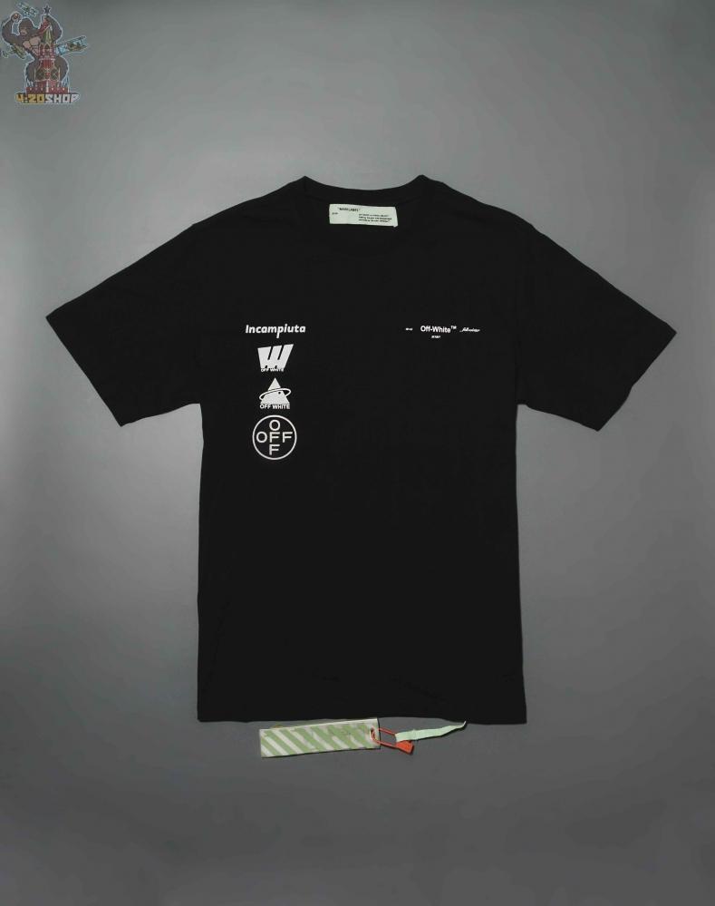 Футболка OFF-White Incampiuta черная