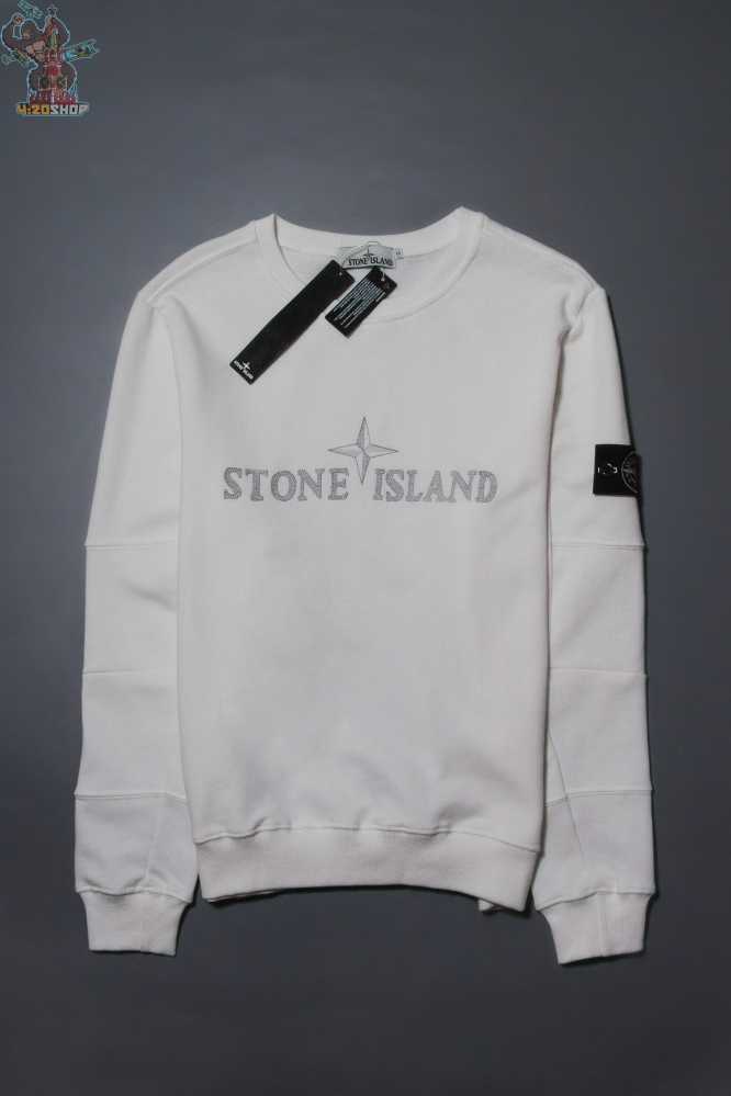 Свитшот Stone Island белый