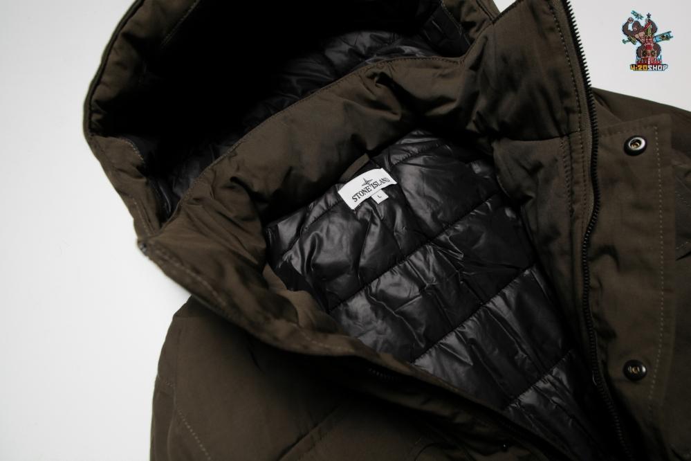Куртка зимняя Stone Island хаки