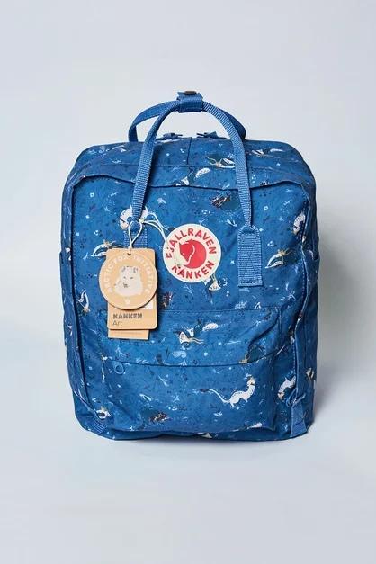Рюкзак Kanken звери синий