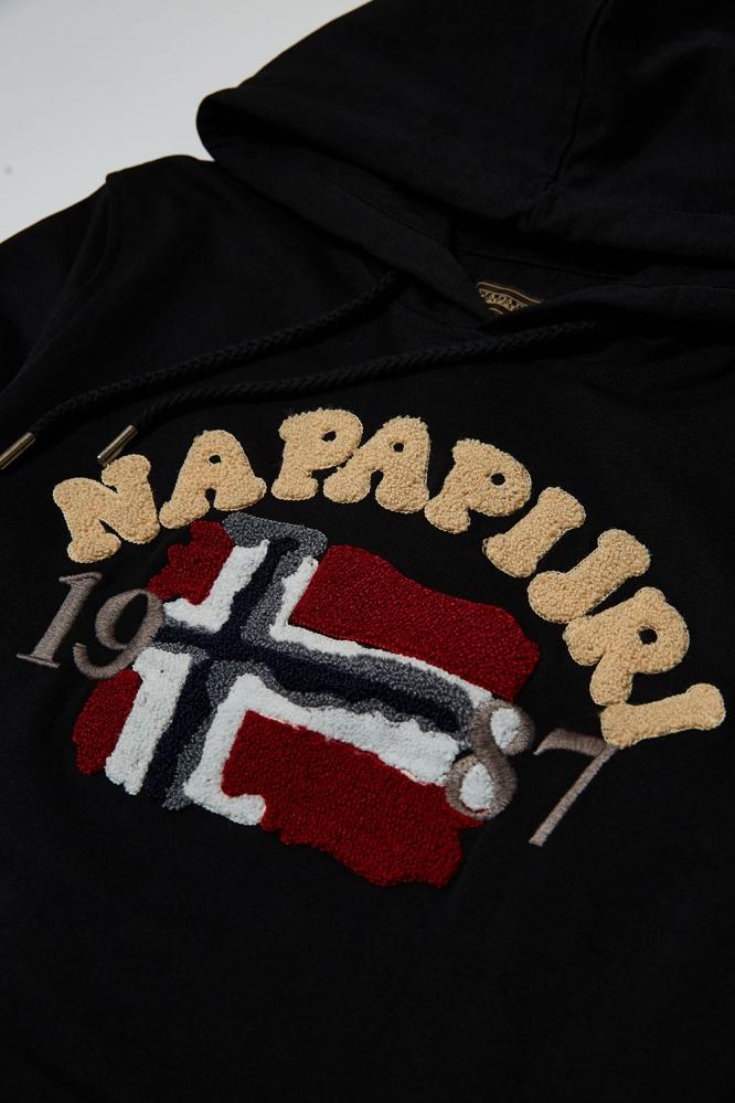Худи Napapijri черное