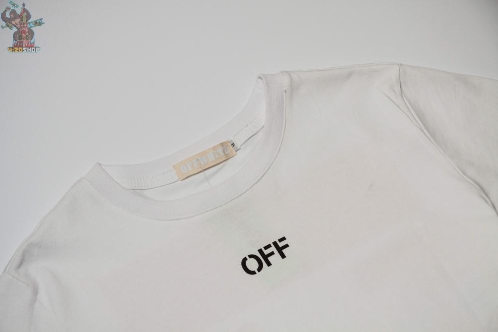 Футболка OFF-White белая