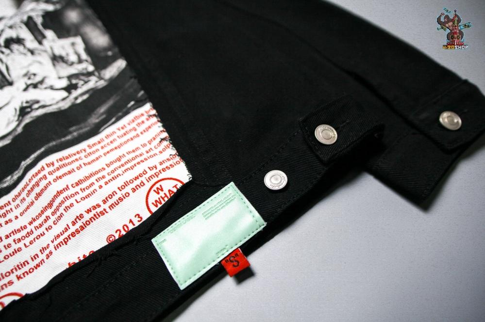 Джинсовая куртка OFF-White