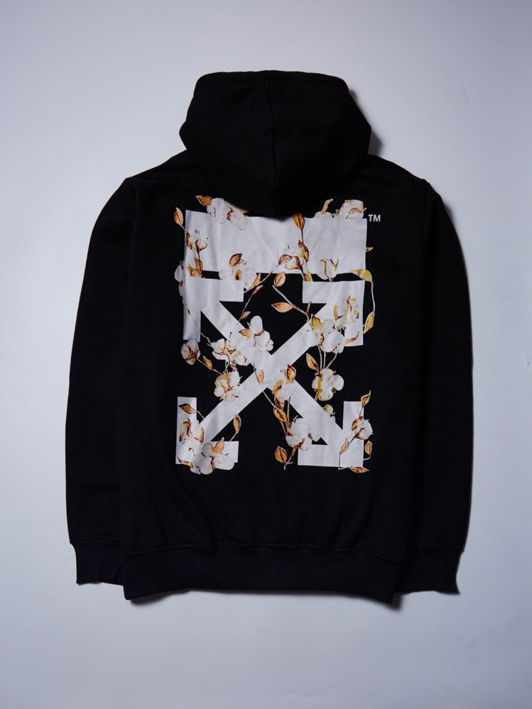 "Худи OFF-White ""Flowers"""
