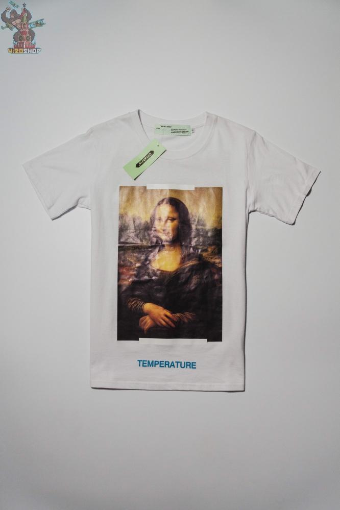 Футболка OFF-White Мона Лиза