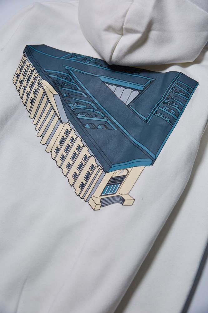 Худи Palace белое