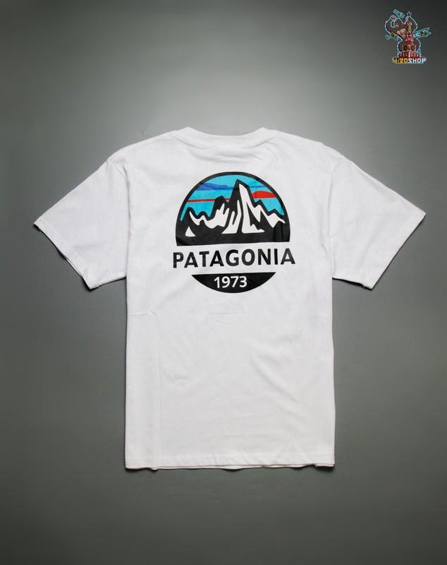 Футболка Patagonia белая