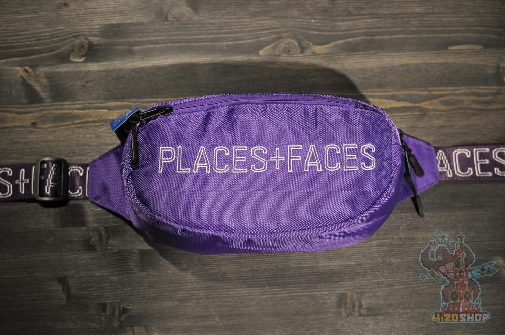 Бананка Places+Faces фиолетовая