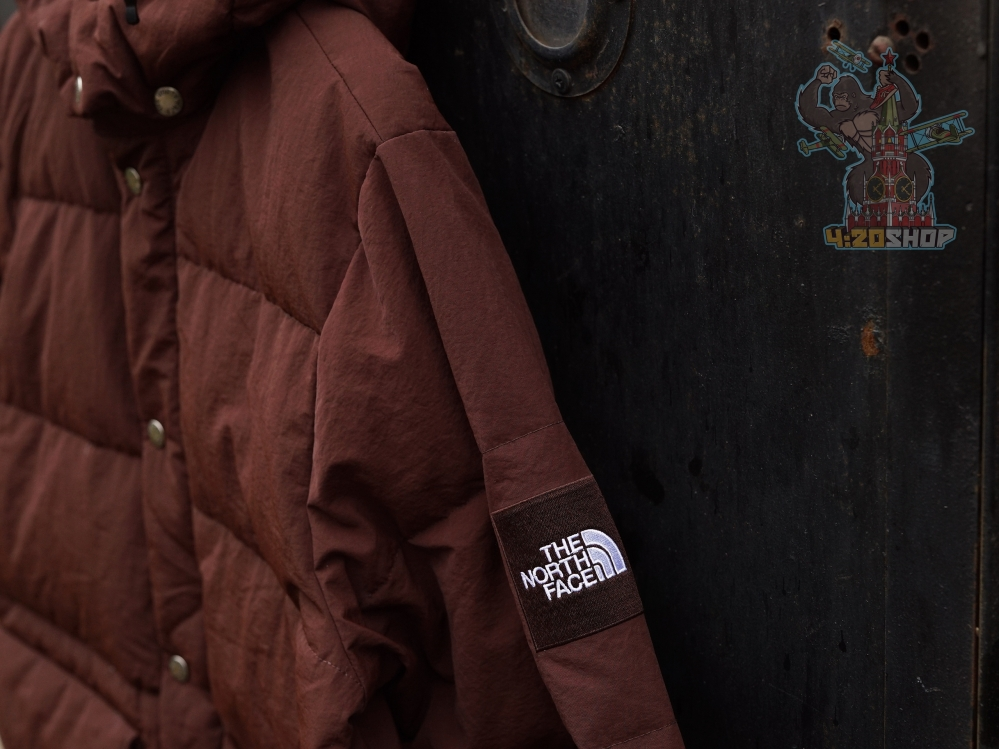 Куртка The North Face коричневая