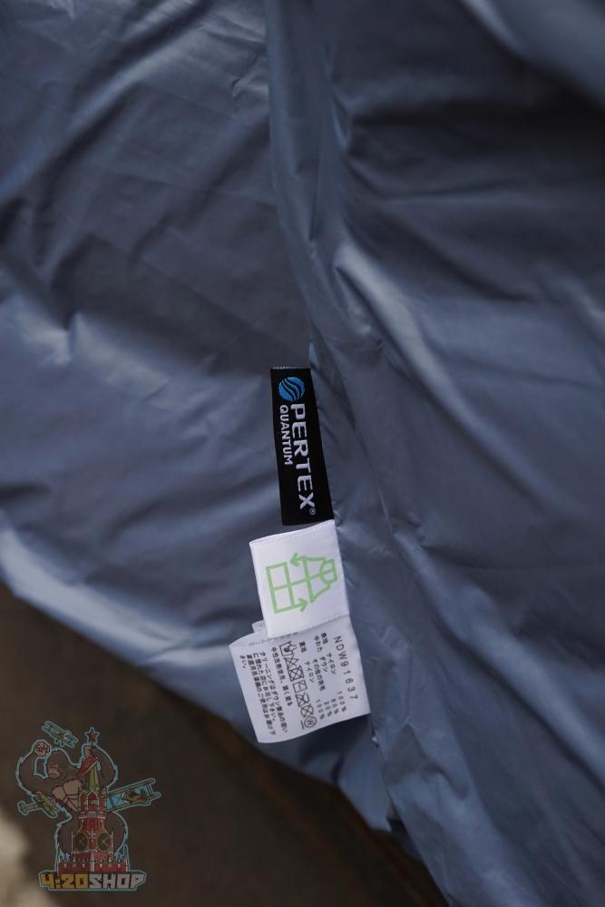 Куртка The North Face серо-голубая
