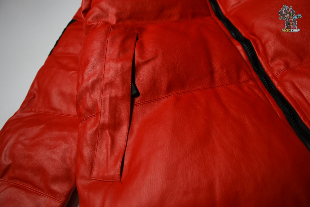 Куртка зимняя  The North Face x Supreme красная