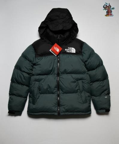Куртка зимняя The North Face (ч/зеленая)