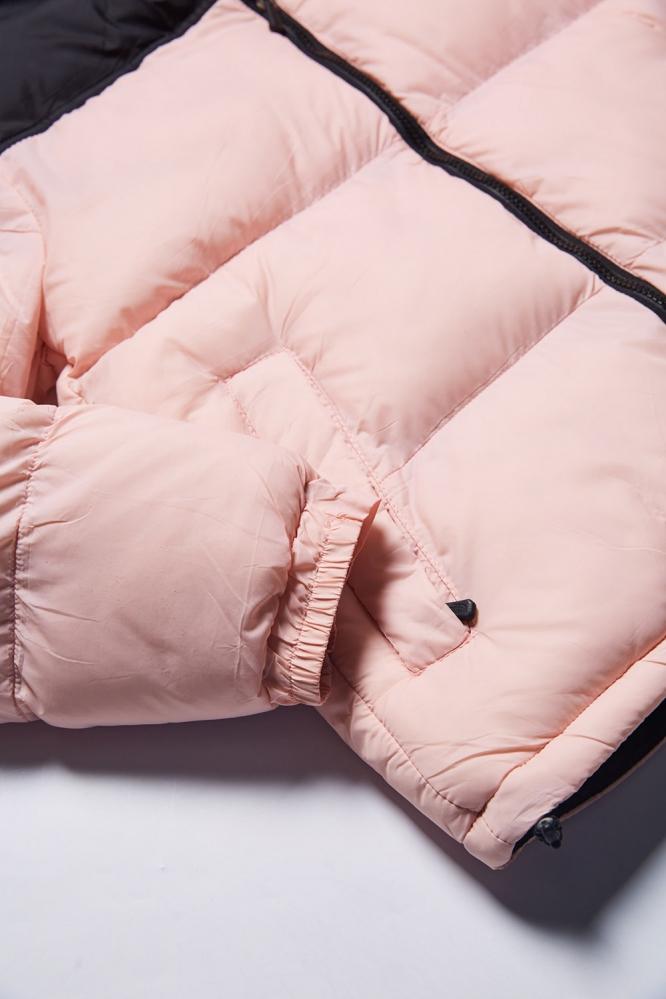 Куртка зимняя The North Face розовая
