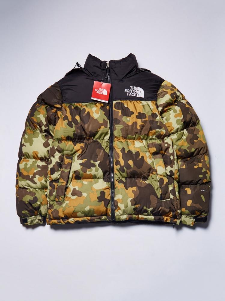 Куртка зимняя The North Face комуфляж