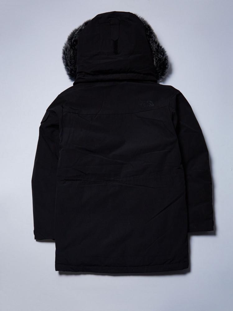 Куртка-парка зимняя The North Face черная