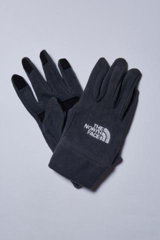 Перчатки The North Face L флис (сер)