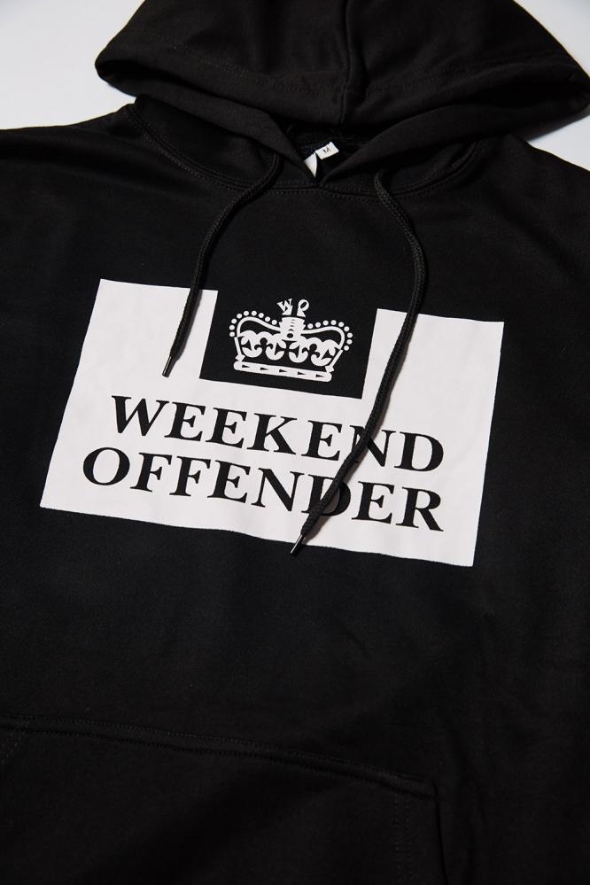 Худи Weekend Offender чёрное