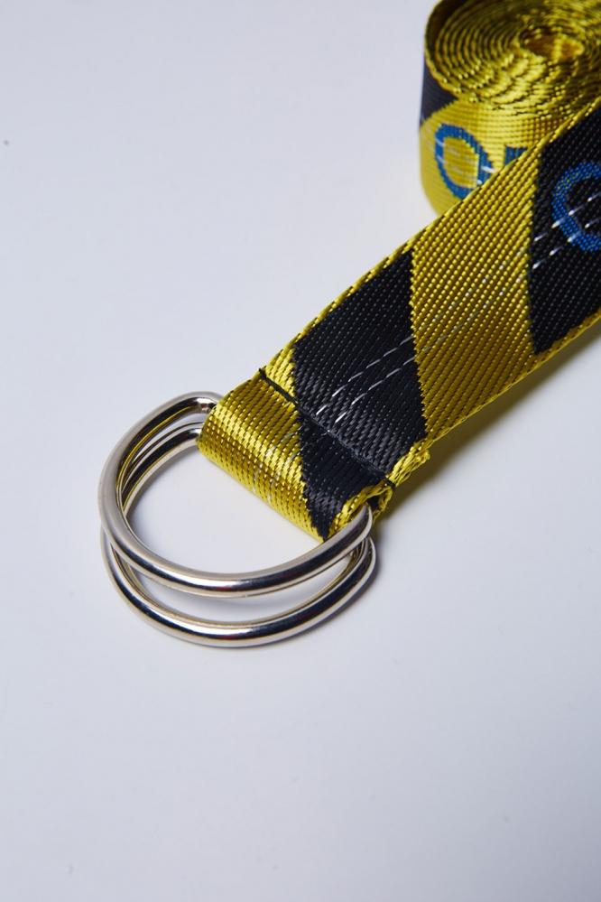 Ремни Off-White желто-черный